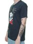 Camiseta Masculina Surfly Skull Surf Manga Curta - Marinho