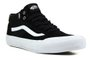 Tênis Masculino Vans Style 112 Mid Pro - Black/White