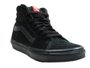 Tênis Feminino Vans Ua Sk8 Hi Cano Longo - Black/Black