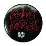 Broche Mess Breaking Barriers - Preto/Vermelho