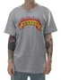 Camiseta Masculina Surfly Chama Manga Curta - Cinza Mesclado