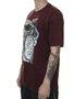 Camiseta Masculina Blunt Blind Manga Curta - Vinho