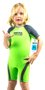 Sleeve Infantil Short Jhon Quiksilver 1,5mm - Verde