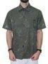 Camisa Masculina VLCS Genuine Manga Curta - Verde