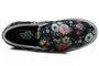 Tênis Feminino Vans Classic Slip-on Garden Floral Black - Black/White/Floral