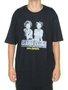 Camiseta Masculina Blunt Social Agression Manga Curta - Preto