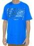 Camiseta Masculino Perfect Surfing Estampada Manga Curta - Azul