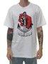 Camiseta Masculina Surfly Ancora Manga Curta - Branco