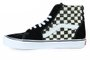 Tênis Masculino Vans SK8 Hi Lite - Checker Board/Black White