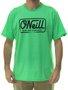 Camiseta Masculina Oneill Base Estampada Manga Curta - Verde