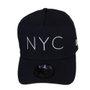 Boné Masculino New Era NYC Aba Curva Snap Back - Azul Marinho