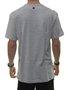 Camiseta Masculina Surfly The Crew Manga Curta - Cinza Mesclado
