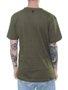Camiseta Masculina Surfly Caveira Surfando Manga Curta - Verde Militar