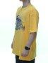 Camiseta Masculina DGK Daily News Tee Manga Curta Estampada - Amarelo