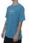 Camiseta Masculina Freesurf Livre Manga Curta Estampada - Azul