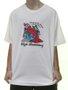 Camiseta Masculina High Bambinoz Manga Curta Estampada - Branco