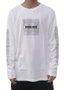 Camiseta Masculina Hocks Tartaruga Manga Longa Estampada - Off White