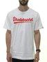 Camiseta Masculina Session Skateboard Manga Curta Estampada - Branco/Vermelho