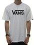 Camiseta Masculina Vans Classic Manga Curta - Branco