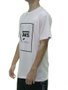 Camiseta Masculina Vans Print Box Manga Curta Estampada - Rosa