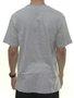 Camiseta masculina Volcom Crypticstone Manga Curta Estampada - Cinza Mescla