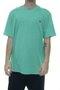 Camiseta Massculina Hurley Silk Heat Manga Curta Estampada - Verde Mesclado
