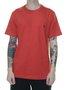 Camiseta Masculina Mormaii Small Tag Manga Curta - Tomate