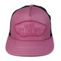 Boné Masculino Vans Beach Girl Trucker Snap Back - Rose/Preto
