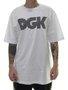 Camiseta Masculina DGK Levels Manga Curta - Branco