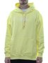 Moletom Masculino High Hoodie Logo Yellow Canguru Capuz - Amarelo