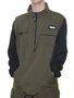 Jaqueta Masculina High College Cargo Jacket Olive Manga Longa Aberta - Verde Musgo