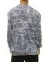 Moletinho Masculino Juicy Careca Fleece Manga Longa - Azul/Tye Dye
