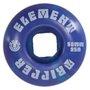 Roda Skateboard Element Tie Dye 50mm - Azul