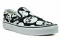 Tênis Feminino Vans Classic Slip On (Skulls) - Black/White